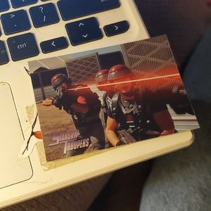 War games starship troopers card